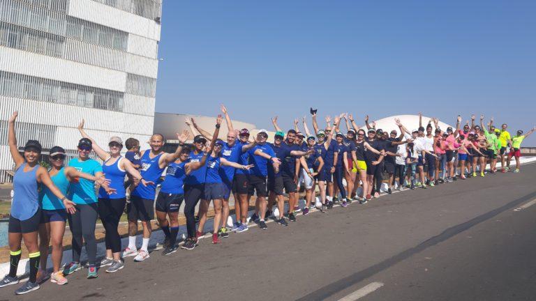 Equipe MR Runners em Treino Presencial